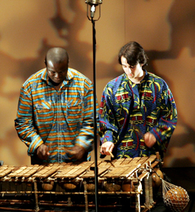 Concerts Duo Insolites, Cyril Dupuy et Ba Banga Nyeck